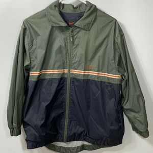 Nike VTG Womens Jacket Green Medium